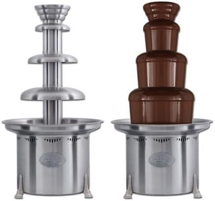 Sephra Popular popular Long Beach Mall Chocolate Fondue Fountain Professional Steel Stainless ~
