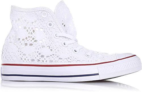 Converse Chuck Taylor All Star Crochet pizzo bianco BIANCO, 27 MainApps