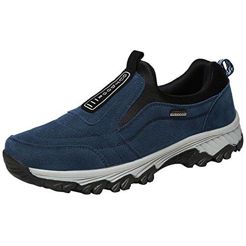 Wealsex Zapatos De Senderismo Antideslizantes Hombre