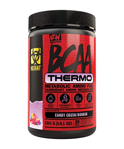 Mutant BCAA Thermo – Supplement BCAA Powder with Micronized Amino Acid and Energy Support - 285 g - Candy Crush