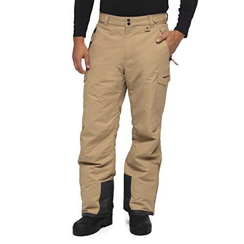 Arctix Men's Snow Sports Cargo Pants, Khaki, Medium/Regular