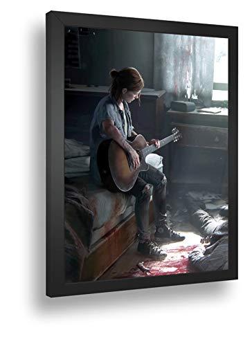 Quadro Decorativo Poste The Last Of Us Parte 2 Violão Joel
