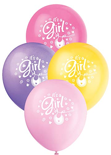 Leuke baby douche partij benodigdheden Latex ballonnen roze