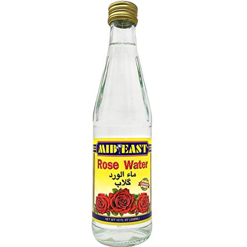 Mid East Rose Water 10 Ounce - 300 Milliliter Superior Quality 1 Pack