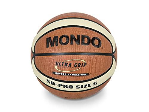Mondo Sport 13734 - Balón de Baloncesto SB - Pro 5, tamaño 5, 500 g, Color marrón