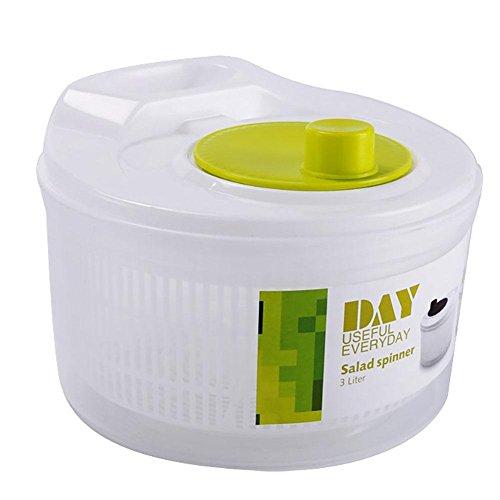 YUACY Deshidratador de alimentos Deshidratador de gran capacidad para ensalada Deshidratador de verduras y frutas Deep-Fried Deshidratated Vegetales Lavadora