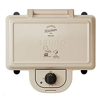 BRUNO Peanuts Hot Sand Maker double BOE069-ECRU White Japan Import