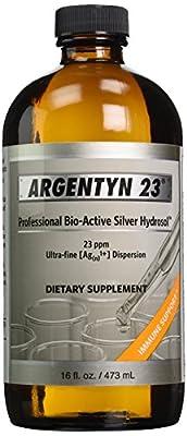 Natural-Immunogenics Corp. - Argentyn 23 16oz 473ml - 2 Bottles