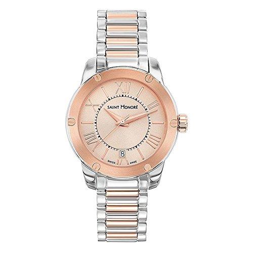 Saint Honoré Reloj Analogico para Mujer de Cuarzo con Correa en Acero Inoxidable 7511306LMRR