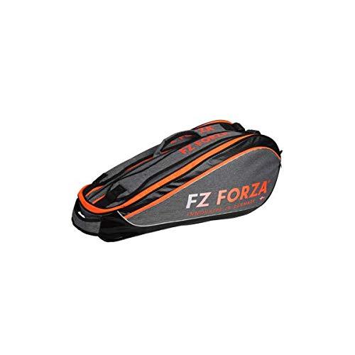 FZ Forza Harrison Badminton/Squash Racket Bag (Orange-Grey), Size for 6 Rackets, 2...