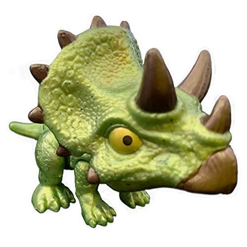 JW Mattel - Jurassic World - Snap Squad Mini Dinosaurier (Triceratops)