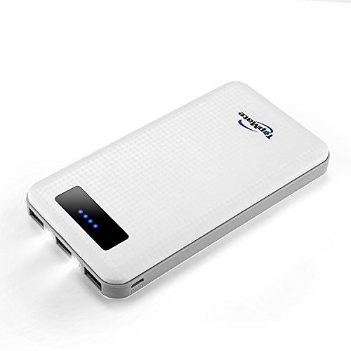 TopMate Batería Externa 20000mAh para iPhone, Samsung, iPad, LG, HTC,...