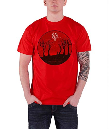 Opeth Reaper Official Herren Nue Red T Shirt
