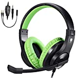 BlueFire PS4 Gaming Headset Bass Stereo Over-Ear Gaming Headphone with Microphone and Volume