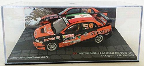 1:43 RALLY COCHE : Mitsubishi Lancer Evo IX Ogliari/Verdelli 2011