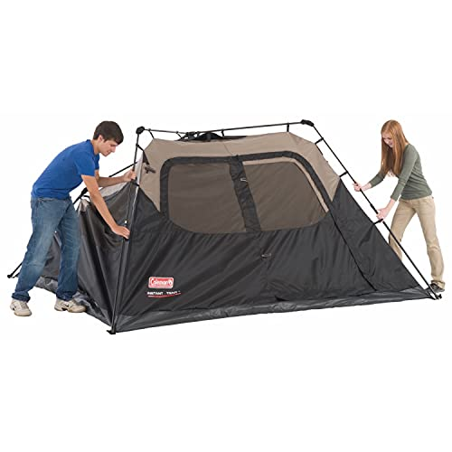Coleman Camping Tent   6 Person Cabin Tent with Instant Setup