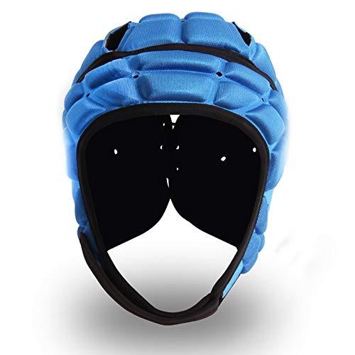 Soft Padded Headgear Soft Football Helmet Youth Kids Adults...