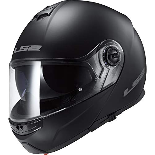 mejores Cascos de moto modulares LS2 FF325 Modular Negro Mate L