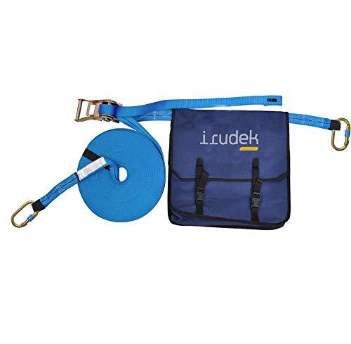 Irudek X2 Línea de vida portátil, azul