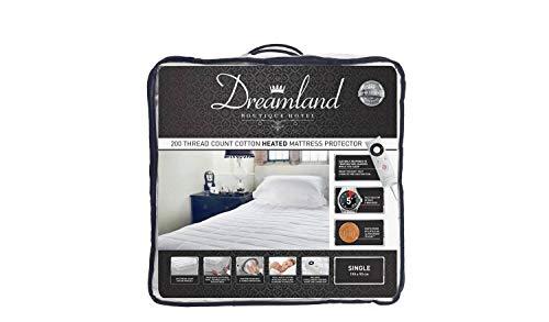 Dreamland Boutique - Protector de colchón individual