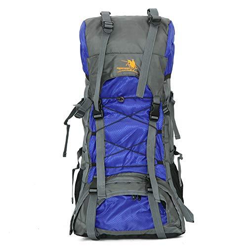 LEIAZ 60L Sac A Dos Sac de Montagne Imperméable Etanche avec Housse De Pluie pour Alpinisme Randonnée Trekking Camping Voyage