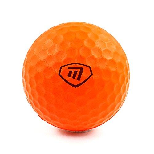 MASTERS GOLF - Lite Flite balles de Mousse Orange Lot de 6
