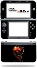 MightySkins Skin Compatible with Nintendo New 3DS XL (2015) - King Nothing   Protective, Durable, and Unique Vinyl Decal wrap Cover   Easy to Apply, Remove, and Change Styles   Made in The USA