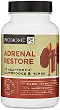 ProBiome Rx Adrenal Restore, 90 Capsules — Delivers a Strong, High-Quality Probiotic with 5 Billion CFUs per Serving of Plant and Soil-Based Organisms