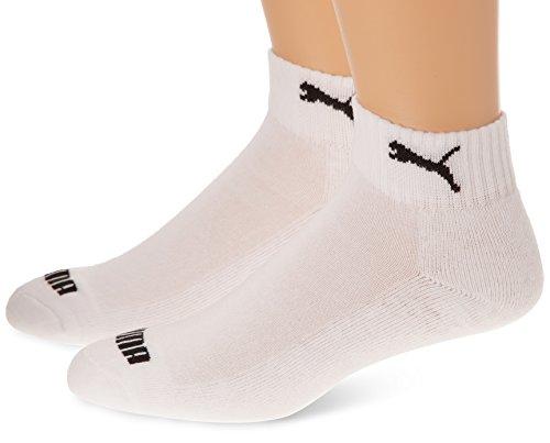 PUMA Uni Socke Quarter 1/2 Cush. 2p, white, 39/42 ,283009300039