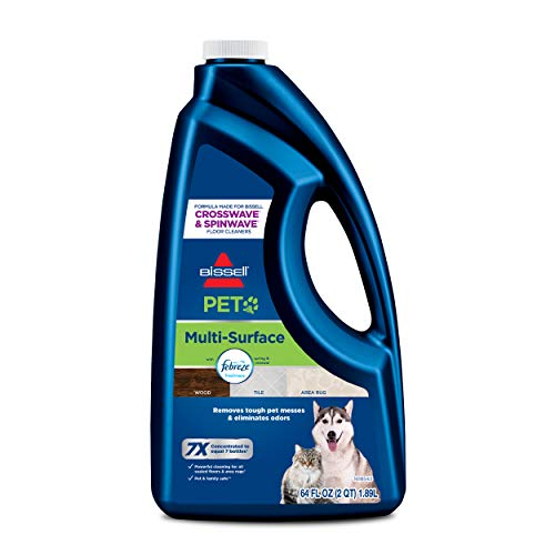 Best Deals! BISSELL Pet Multi-Surface Febreze Feshness for Crosswave and Spinwave (64 oz), 22951