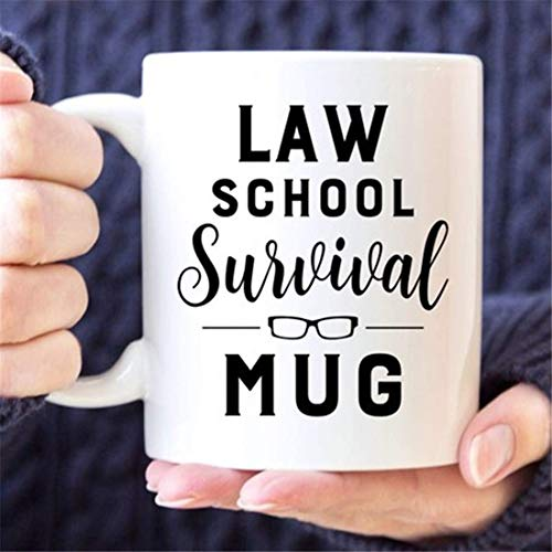 Taza de café   Taza de la supervivencia del colegio de abogados de <br> Primavera! Taza divertida   Regalo de estudiante de derecho   Regalo de graduación   Regalo para estudiantes   Taza de la facult