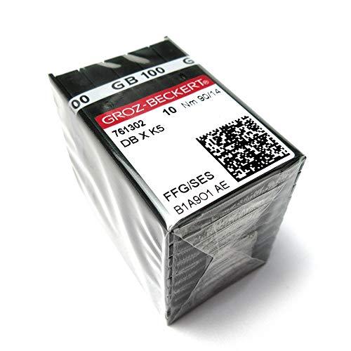Groz Beckert Dbxk5 FFG/SES - Agujas para máquina de coser (100 unidades) 8/60