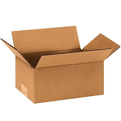 BOX USA B964 Corrugated Boxes, 9