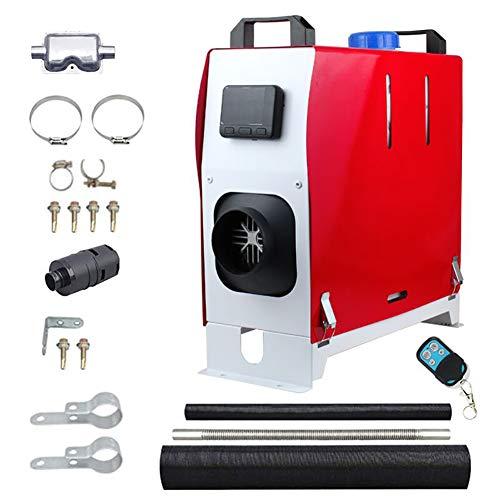Zhangpu 12V Diesel Lufterhitzer, 8KW Air Standhezung Diesel, Luft Dieselheizung, Air Diesel Heizung für Wohnmobile Vans Lkws Wohnmobilanhänger und Boote, Auto Heizung Lufterhitzer Luftwärmepumpe