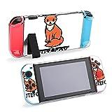 Funda protectora para Nintendo Switch, diseño de dibujos animados de zorro lindo funda duradera para Nintendo Switch y...