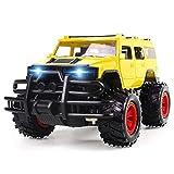 CHENALIFE Télécommande voiture 1: 14 2.4 Ghz à grande vitesse Stunt grande télécommande camion avec LED phare 4x4 hors route RC Rallye véhicule électrique haute Simulation Toy Auto Modèle professionne