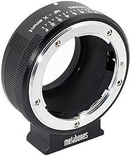 Metabones Nikon G Lens to Fujifilm X-Mount Camera Lens Mount Adapter, Matte Black