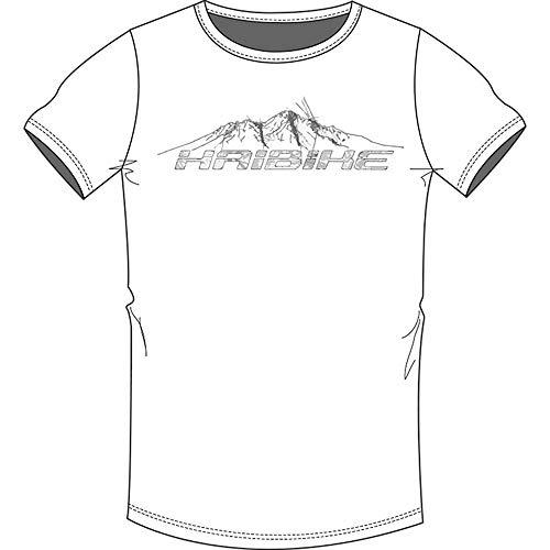 HAIBIKE - Maglietta da Uomo Lock, Uomo, Maglietta da Uomo, 9505230029, Bianco, XL
