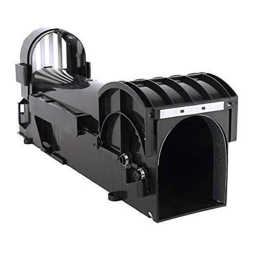 WSJQWHW 1 PC no tóxico Rat Trampa Jaula Catch Ratones del retén del Control de roedores Bait Hamster Mouse Trap Transparente Humane Vivo Ratonera (Color : 1)