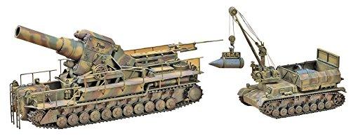 Hasegawa HAS MT56 - 54cm Mörser Karl 041 mit Munitionspanzer IV Ausführung F