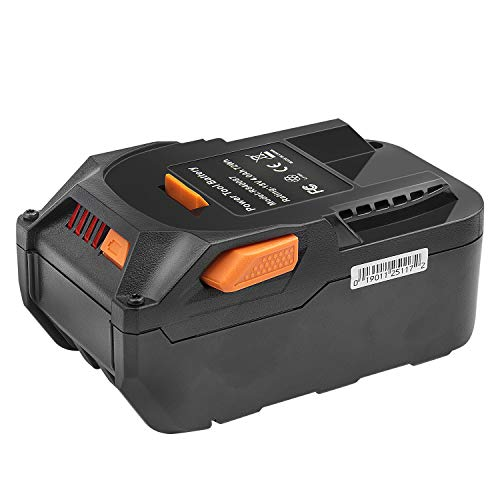 Replacement R840087 18-Volt High Capacity 4.0Ah Lithium Ion Battery for RIDGID R840087 AC840087P AC840089 R840086 AC840085 R840083 RIDGID 18V Cordless Drill Tools