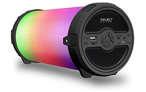Select Sound BOCINA Bluetooth PORTÁTIL con Luces LED