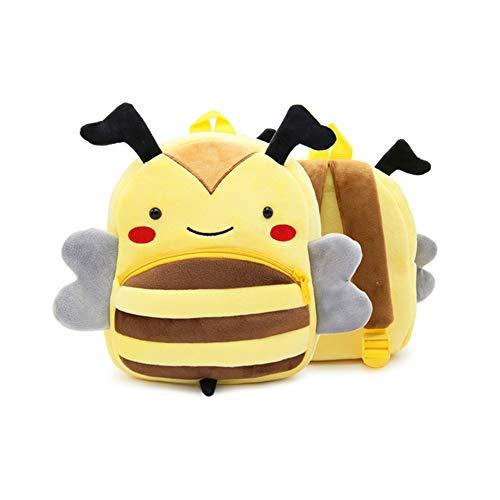 YZNlife Kleinkind Rucksack Kindergartenrucksack, Plüsch Tier Rucksack Mini Cartoon Backpack, Mini Animal Rucksack Vorschule Rucksack Kinderrucksack, Kleinkind Schultasche für Baby Mädchen 1-3 Jahre