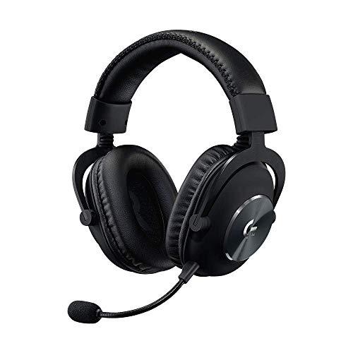 Logitech G Pro - Auriculares para videojuegos (2ª generación) con altavoces PRO-G de 50 mm, aluminio, acero y espuma de memoria, comunicación de voz precisa para juegos Esport (reacondicionado)