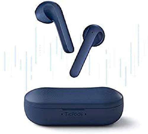 Earphone Nirkabel TicPods 2 PRO, Deteksi Masuk-Telinga, Kualitas Suara Unggul, Kontrol Sentuh / Suara / Gerakan, Asisten Suara, Peringkat Tahan Air IPX4, Biru
