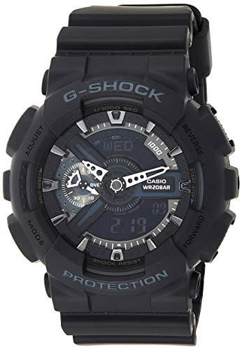 Casio G-SHOCK Homme Analogique-Digital Quartz Montre avec Bracelet en Résine GA-110-1BER