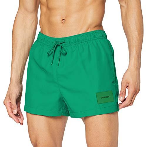 Calvin Klein Short Drawstring Costume a Pantaloncino, Verde (Amazon 306), XXL Uomo