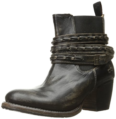 bed stu Women's Lorn Boot, Black Handwash, 8 M US