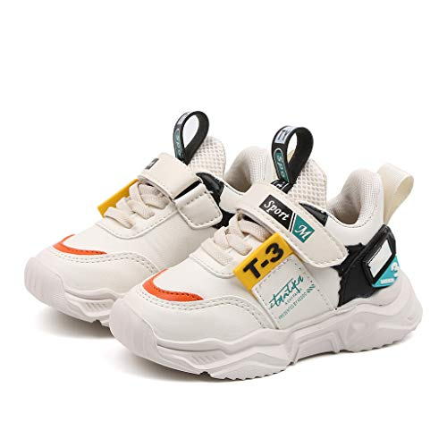 iLOOSKR New Fashion Comfy Outdoor Sports Shoes Children's Lightweight Breathable Hook Casual Shoes