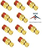 10 pack 1/4' Drain valve air compressor tank water drain plug